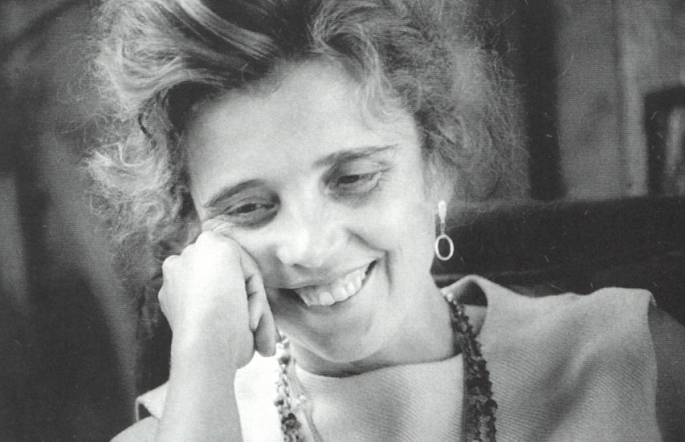 Elena Poniatowska, foto de Rogelio Cuéllar